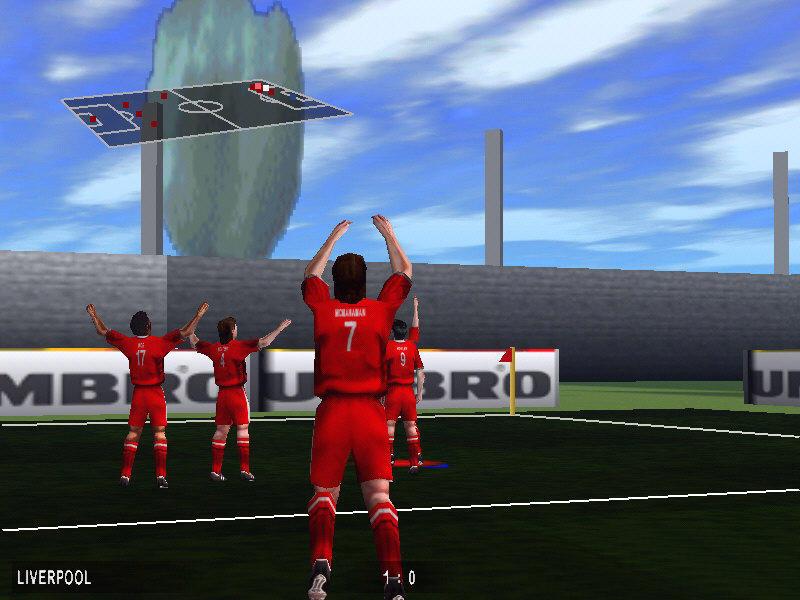 Michael Owens 99 World League Soccer