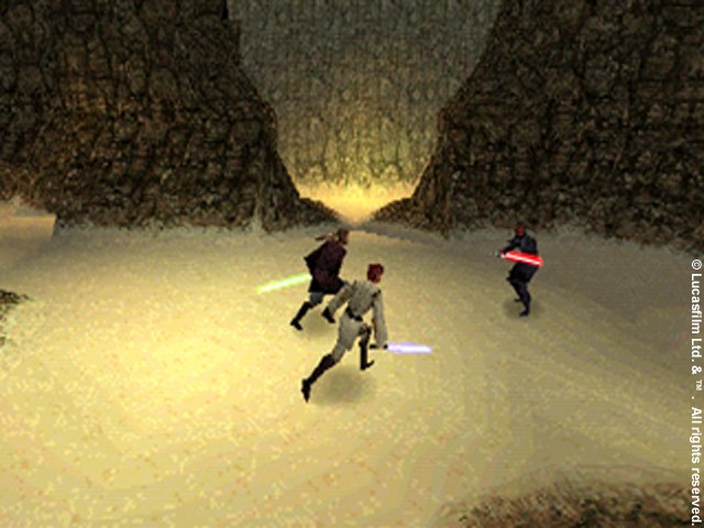 Star Wars: Jedi Power Battles / RUS / Action / 2000 / PSX-PSP