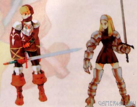 Классы персонажей Final Fantasy Tactics