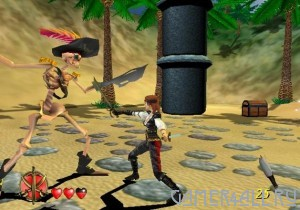 Pirates: The Legend of Black Kat (PS2)