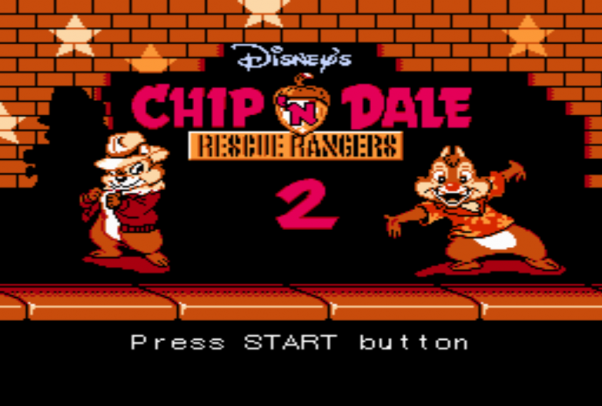 Chip and Dale Rescue Rangers 2 (Dendy)