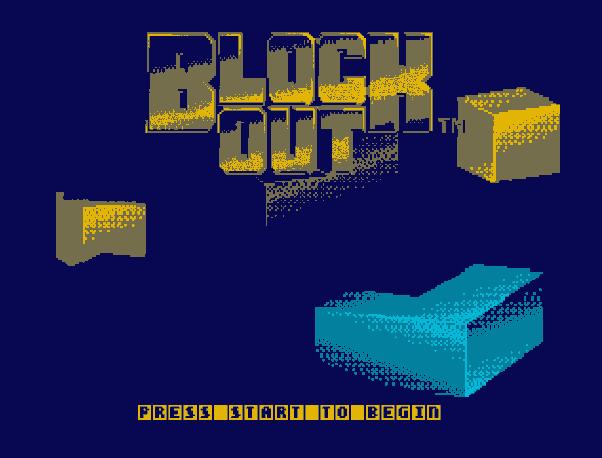 Blockout (Sega)