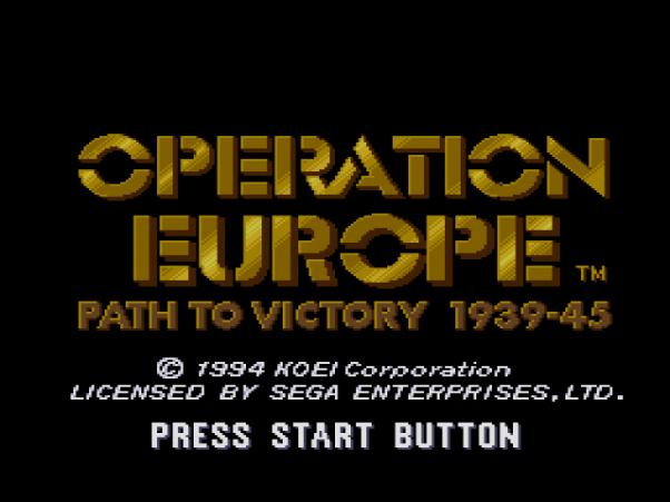 Operation Europe (Sega)