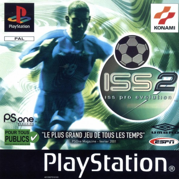 ISS Pro Evolution 2 (PS)